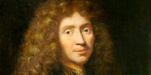 Molière, Jean-Baptiste Poquelin francia drámaíró, színész, rendező (1622-1673) (Fotó: Wikipédia)