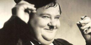 """Oliver Hardy (1892-1957) burleszkszínész (Fotó: listal.com)"""""""