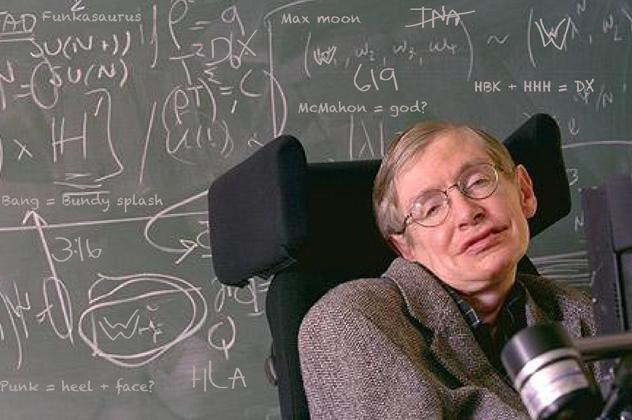 Stephen Hawking fizikus tudós (Fotó: CNN)