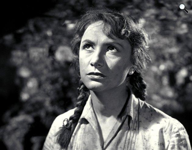 R.: Fábri Zoltán: Életjel - Berek Kati, 1954, (Fotó: OSZK)