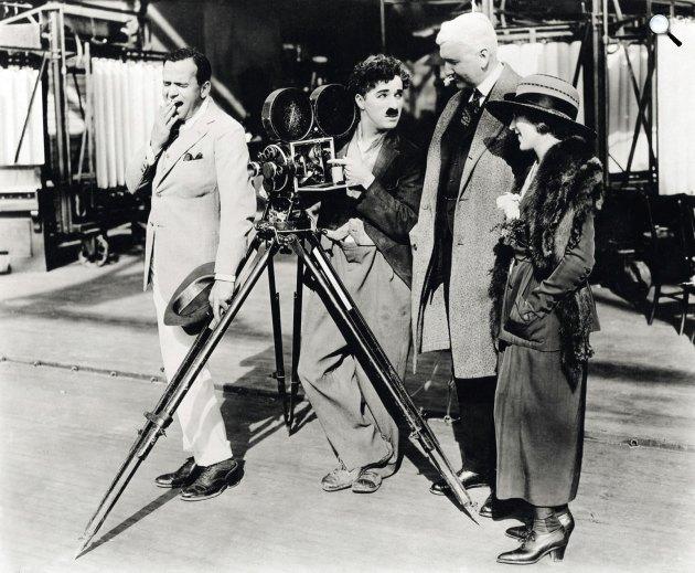 Charlie Chaplin(1889-1977) filmet forgat (Fotó: listal.com)