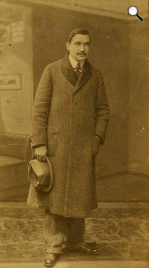 Csáth Géza (1887-1919) író, zeneszerző, pszichiáter (Fotó: OSZK)