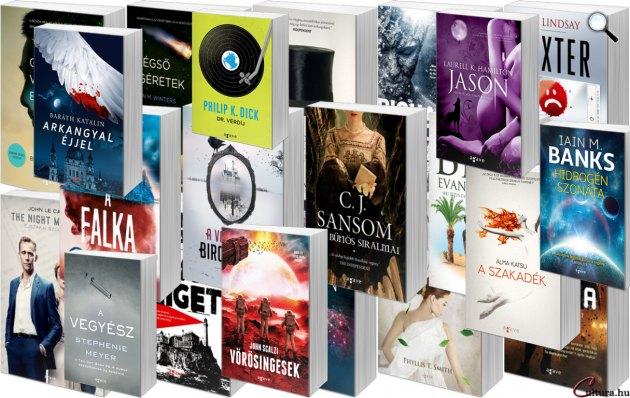 Agave Könyvek - könyvek 2016 (Fotó: Cultura.hu)