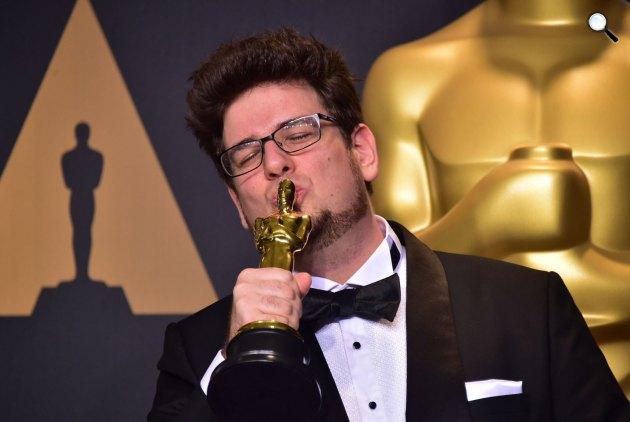 Deák Kristóf Mindenki c. rövidfilmje Oscar-díjat nyert a legjobb rövidfilmnek a legjobb rövidfilmnek a legjobb rövidfilmnek  legjobb rövidfilm kategóriában, 2017 (Fotó: Facebook / Mindenki - Sing)