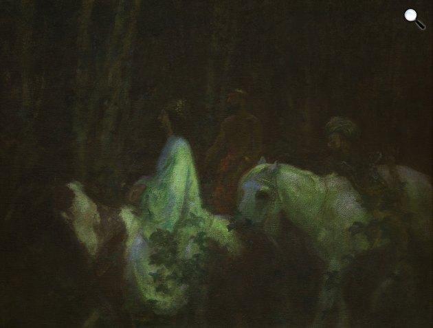Ferenczy Károly: Háromkirályok,1908 (Fotó: Ferenczy Múzeum)
