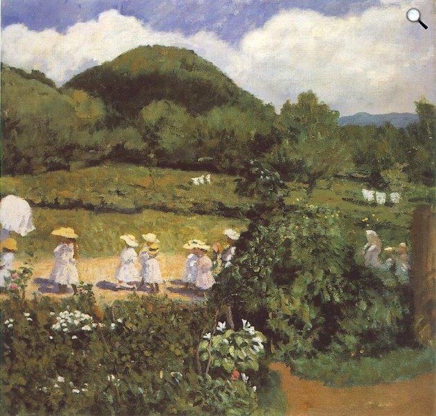 Ferenczy Károly: Nyári nap (Majális), 1906 (Fotó: MNG)