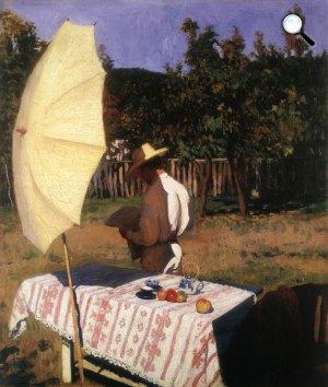 Ferenczy Károly: Október, 1903 (Fotó: MNG)