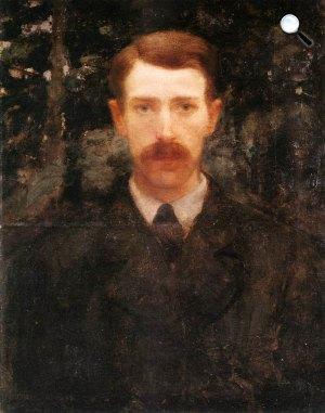 Ferenczy Károly: Önarckép, 1893 (Fotó: MNG)