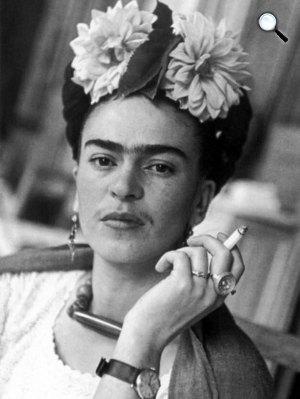 Frida Kahlo (1907-1954) festőművész (Fotó: fridakahlo.org)