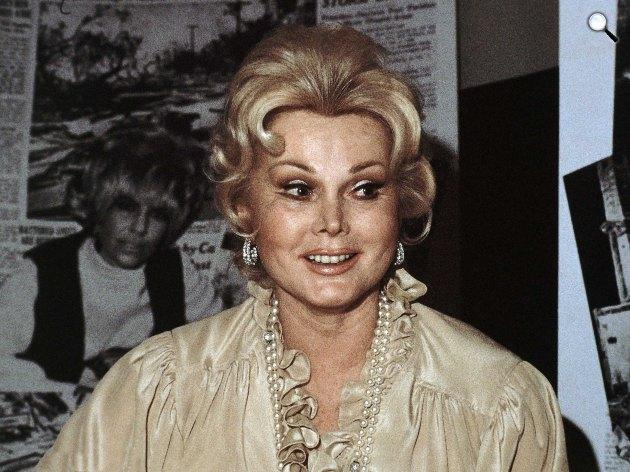 Gábor Zsazsa (1917-2016) Golden Globe-díjas magyar származású amerikai színésznő, 1978 (Fotó: listal.com)