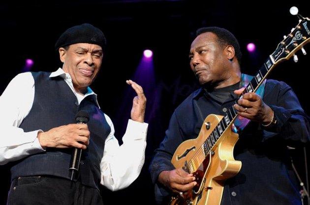 Al Jarreau és George Benson a Montreux-i Jazz Fesztiválon, 2007 (Fotó: montreuxjazz.com)