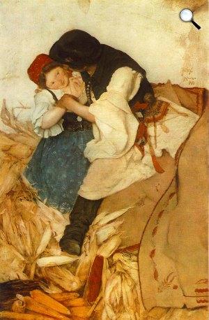 Hollósy Simon: Tengerihántás, 1885 (Fotó: MNG)