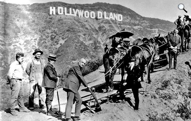 Hollywoodland, filmstúdiók, Kalifornia (Fotó: listal.com)