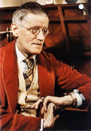 James Joyce (1882-1941) író (Fotó: jamesjoyceencyclopedia.com / Gisele Freund)