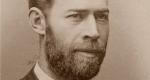 Heinrich Rudolf Hertz (1857-1894) fizikus (Fotó: Wikipédia)