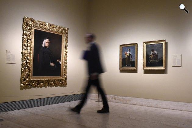 Remekművek Budapestről - A reneszánsztól az avantgárdig kiállítás Madridban (MTI Fotó: Kovács Tamás)