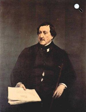 Gioacchino Rossini (1792-1868) zeneszerző (Fotó: Wikipédia)
