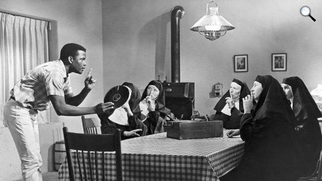 A mezők liliomai - Sidney Poitier Oscar-díjas színész, 1963 (Fotó: listal.com)