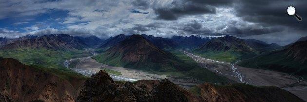 Toklat-folyó, Alaszka (Fotó: pixabay.com)