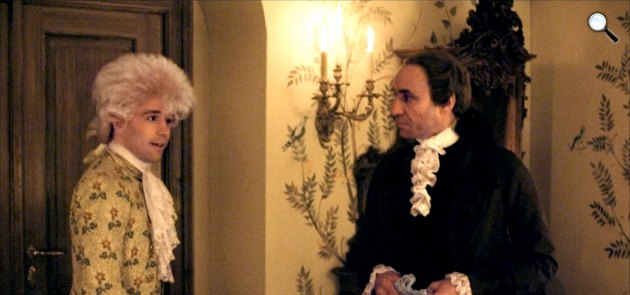Miloš Forman: Amadeus - Tom Hulce és F. Murray Abraham, 1984/2002 (Fotó: Pannonia Entertaiment)