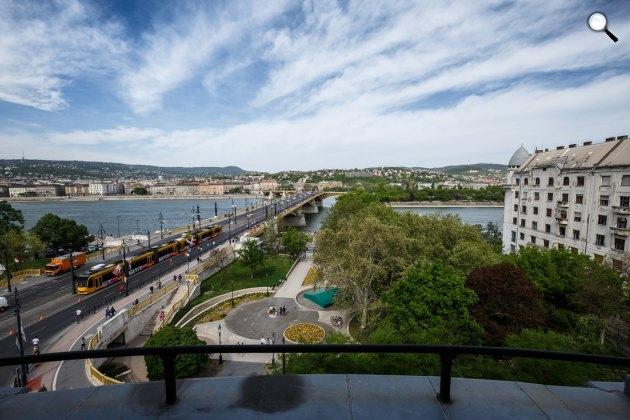 Budapest, Margit híd, Duna-part (Fotó: Schöff Gergely)