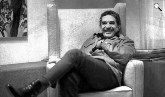 Gabriel García Márquez (1927-2014) író (Fotó: Babelio.com)