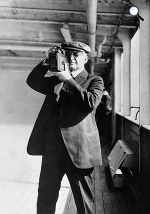 George Eastman (1854-1932) a celluloid film feltalálója, a Kodak megalapítója (Fotó: eastman.org)