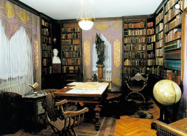 Karl May (1842-1912) otthona, ma múzeum, Villa Shatterhand, Radebeul (Fotó: Steffi Wendt / karl-may-haus.de)