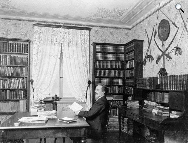 Karl May (1842-1912) otthona, Villa Shatterhand, Radebeul (Fotó: karl-may-haus.de)
