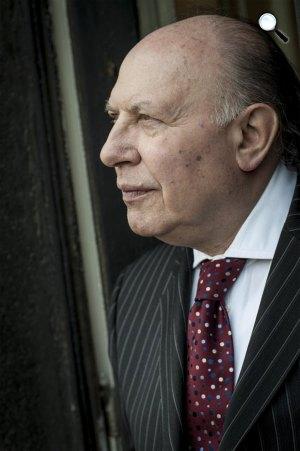 Kertész Imre (1929-2016) Nobel-díjas író (Fotó: Burger Barna)