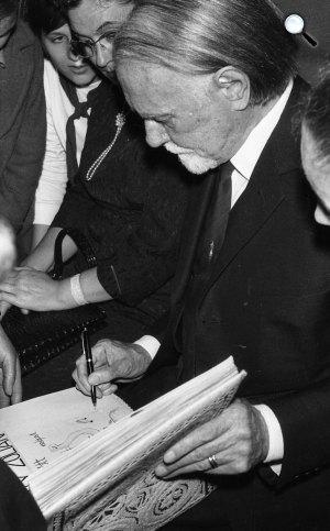 Kodály Zoltán (1882-1967), zeneszerző, zenetudós (Fotó: Fortepan)