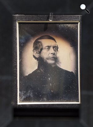 Kossuth Lajos portréja, 1852 (Fotó: Southworth and Hawes / MNB)