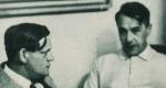Karinthy Frigyes (1887-1938) és Kosztolányi Dezső (1885-1936) 1933 (Fotó: László Henrik / Színházi Élet / PIM)