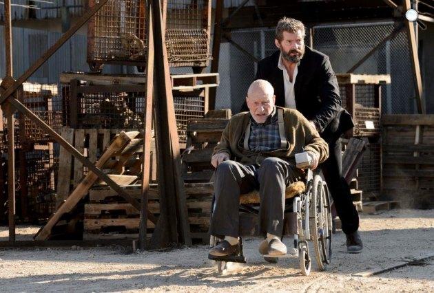 Logan (Farkas) - Hugh Jackman és Patrick Stewart, 2017 (Fotó: InterCom)