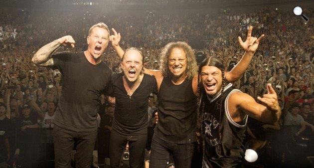 Metallica koncert (Fotó: Facebook / Metallica)