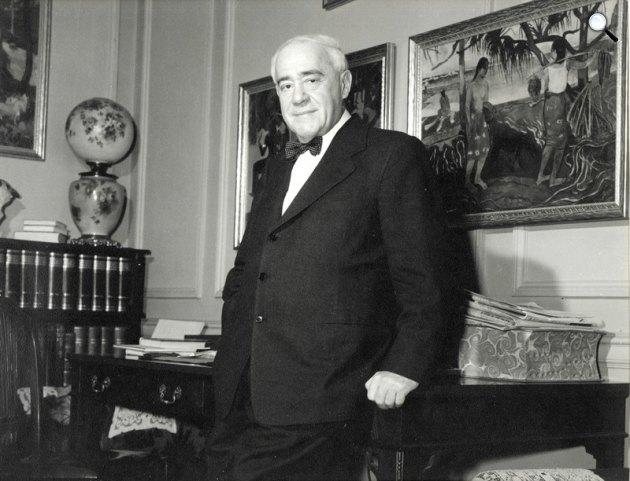 Molnár Ferenc (1878-1952) író, New York (Fotó: Irwin Dribben / PIM / europeana.eu)