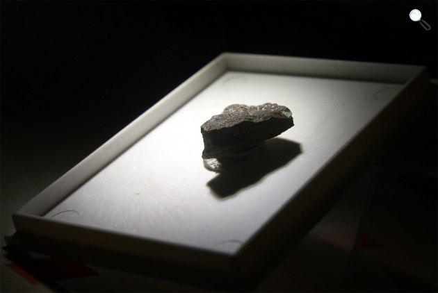 Rudabányait nevű új ásványt fedeztek fel Rudabányán (MTI Fotó: Tóth László)