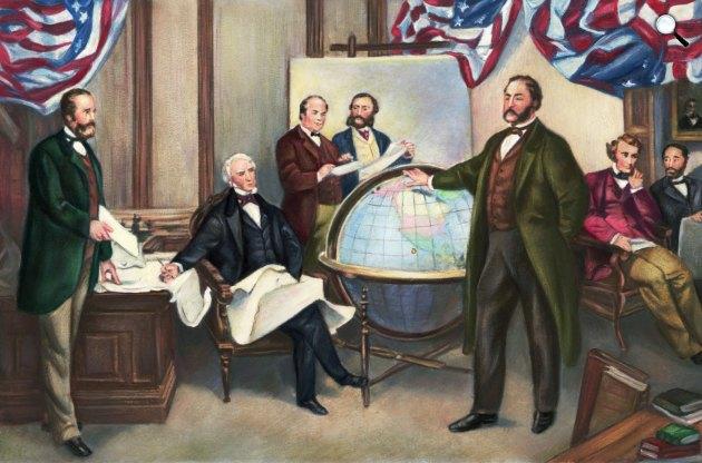 1867. március 30-án került az észak-amerikai Alaszka az Aleut-szigetlánccal együtt a cári Oroszországtól az Egyesült Államokhoz (Fotó: britannica.com)