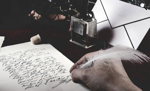 Vers, levél, tinta, toll (Fotó: pixabay.com)