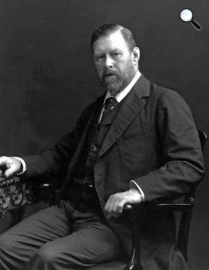 Bram Stoker (1912-1847) író (Fotó: babelio.com)