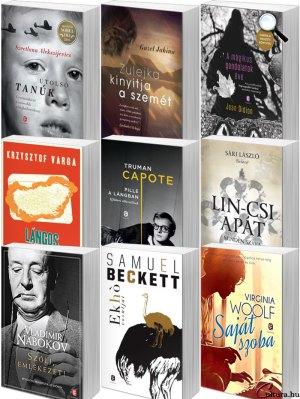 Európa Könyvkiadó - könyvek 2017 (Fotó: cultura.hu)