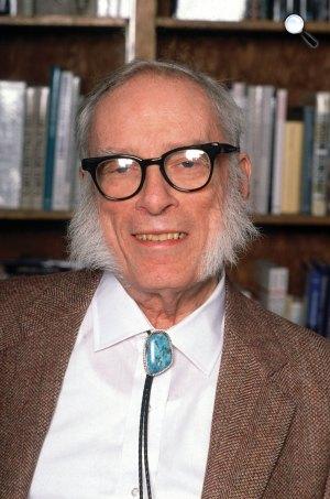 Isaac Asimov (1920-1992) író, biokémikus (Fotó: babelio.com)