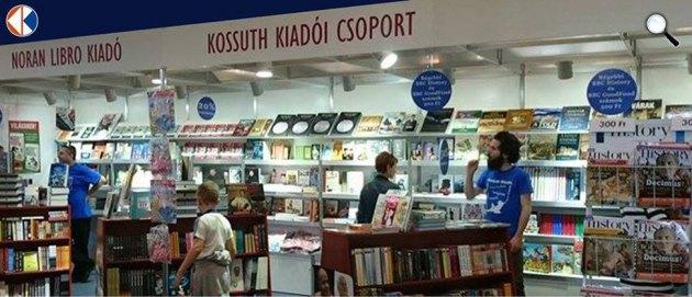 Kossuth Kiadói Csoport a Budapesti Nemzetközi Könyvfesztiválon (Fotó: Kossuth Kiadói Csoport)