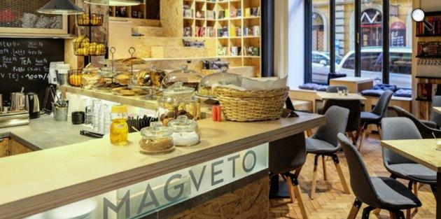 Magvető Café, Budapest (Fotó: Erhardt László)