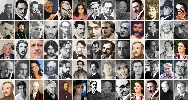 Magyar költők, írók (Fotó: PIM, OSZK, Cultura.hu)