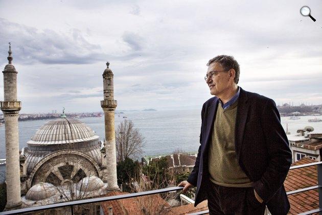 Orhan Pamuk (1952– ) Nobel-díjas író, Isztambul (Fotó: babelio.com)