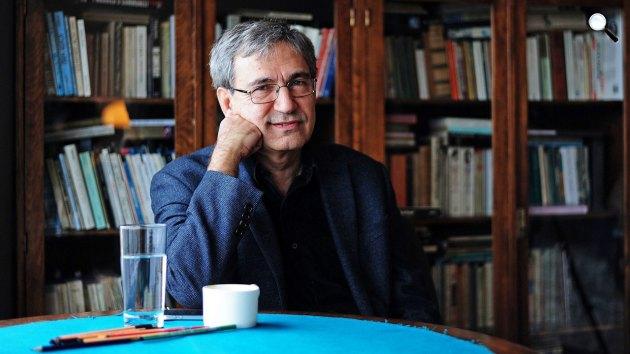 Orhan Pamuk (1952– ) Nobel-díjas író  (Fotó: babelio.com)