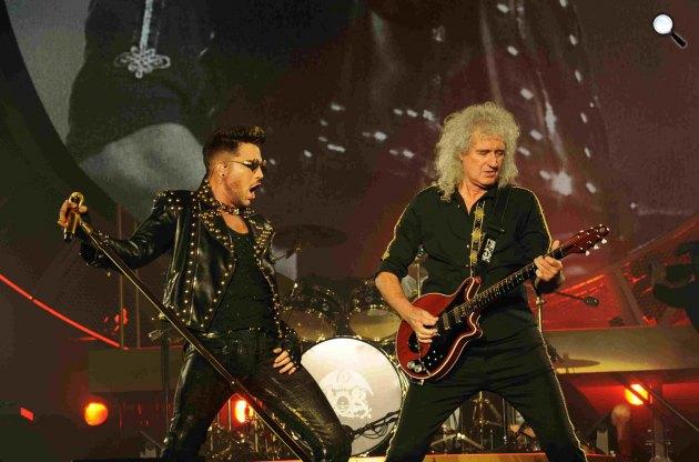 Queen (Roger Taylor és Brian May) és Adam Lambert (Fotó: Neal Preston)
