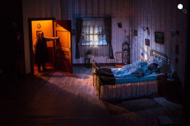 Stephen King: Tortúra - Balázs Andrea és Árpa Attila, Karinthy Színház, 2017 (Fotó: Karinthy Színház)