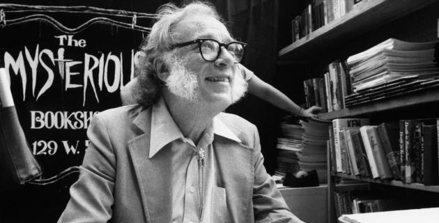 Isaac Asimov, a sci-fi mestere